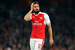 25 October 2016 - EFL Cup - 4th Round - Arsenal v Reading - Olivier Giroud of Arsenal - Photo: Marc Atkins / Offside.