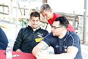 Diego Flaccadori, Christian Burns<br /> Raduno Nazionale Maschile Senior<br /> Raduno Giorno 6<br /> Firma Autografi<br /> Folgaria 27/07/2017<br /> Foto Ciamillo-Castoria/ A.Gilardi