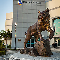 Johnson & Wales, Wildcat Way Statue