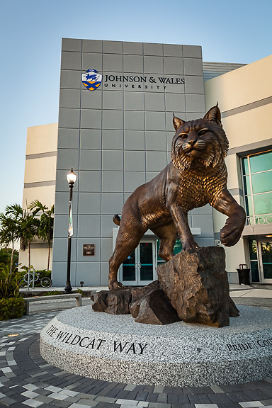 Johnson & Wales, Wildcat Way Statue