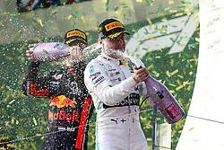 March 17, 2019 - Melbourne, Australia - Motorsports: FIA Formula One World Championship 2019, Grand Prix of Australia, ..#33 Max Verstappen (NLD, Aston Martin Red Bull Racing), #77 Valtteri Bottas (FIN, Mercedes AMG Petronas Motorsport) (Credit Image: © Hoch Zwei via ZUMA Wire)