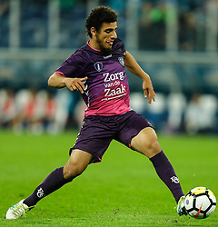 August 24, 2017 - Saint Petersburg, Russia - Yassin Ayoub of FC Utrecht in action during the UEFA Europa League play-off round second leg match between FC Zenit St. Petersburg and FC Utrecht at Saint Petersburg Stadium on August 24, 2017 in Saint Petersburg, Russia. (Credit Image: © Mike Kireev/NurPhoto via ZUMA Press)