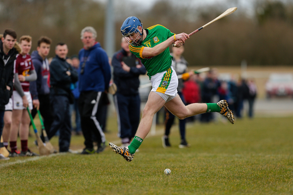 Leinster MHC at Dunganny, Trim, 12th March 2016<br /> Meath vs Westmeath<br /> Jamie Leavy in action for Meath<br /> Photo: David Mullen /www.cyberimages.net / 2016