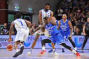 Gani Lawal - Travor Lacey - Durand Scott<br /> Banco di Sardegna Dinamo Sassari - Enel New Basket Brindisi<br /> LegaBasket Serie A LBA Poste Mobile 2016/2017<br /> Sassari 02/04/2017<br /> Foto Ciamillo-Castoria