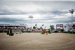 Lindelow Douglas, SWE, Casquo Blue<br /> Knokke Hippique 2019<br /> © Hippo Foto - Sharon Vandeput<br /> 30/06/19