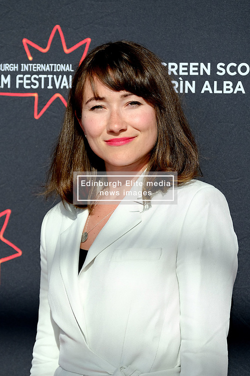 Edinburgh International Film Festival 2019<br /> <br /> Master of Love (World Premiere)<br /> <br /> Pictured: Sarah Ovens<br /> <br /> Alex Todd | Edinburgh Elite media