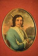 Fuerte de San Josè, colonial museum. Pirate portrait.