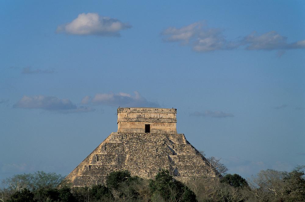 Pyramid of Kukulkan, Chitzen Itza,Yucatan ,Mexico