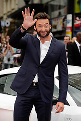 Hugh Jackman arriving for the Wolverine premiere in London, Tuesday, 16th July 2013<br /> Picture by i-Images