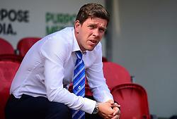 Bristol Rovers manager Darrell Clarke - Mandatory by-line: Alex James/JMP - 21/04/2018 - FOOTBALL - Aesseal New York Stadium - Rotherham, England - Rotherham United v Bristol Rovers - Sky Bet League One