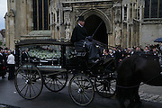 Funeral for Isabella Blow. Gloucester Cathedral. 15 May 2007.  -DO NOT ARCHIVE-© Copyright Photograph by Dafydd Jones. 248 Clapham Rd. London SW9 0PZ. Tel 0207 820 0771. www.dafjones.com.