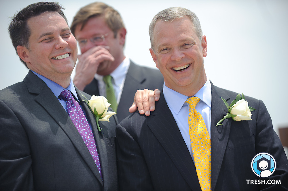 The wedding of Robert Murphy and Fred Steckler, Washington, D.C., Saturday, June 11, 2011.
