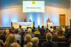 Pictured: The emergency motion debate on the Paradise Papers was well attended. <br /> <br /> The Scottish Liberal Democrats stalwarts gathered today in Dunfermline for their Autumn Conference. The Emergancy Motion debate was on the Paradise Papers.<br /> <br /> Ger Harley | EEm 11 November 2017