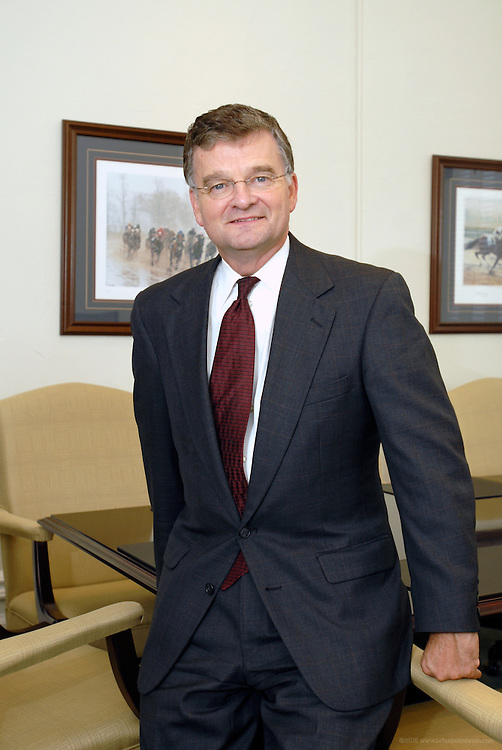 John E. Hindman, secretary of the Kentucky Cabinet for Economic Development, photographed Wednesday, July 18, 2007, in Frankfort, Ky. Photo by Brian Bohannon
