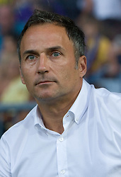 Coach of Maribor Darko Milanic at Third Round of Champions League qualifications football match between NK Maribor and FC Zurich,  on August 05, 2009, in Ljudski vrt , Maribor, Slovenia. Zurich won 3:0 and qualified to next Round. (Photo by Vid Ponikvar / Sportida)