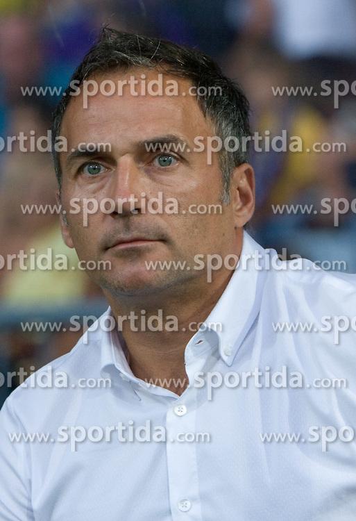 Coach of Maribor Darko Milanic at Third Round of Champions League qualifications football match between NK Maribor and FC Zurich,  on August 05, 2009, in Ljudski vrt , Maribor, Slovenia. Zurich won 3:0 and qualified to next Round. (Photo by Vid Ponikvar / Sportida)