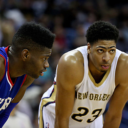 01-26-2015 Philidelphia 76ers at New Orleans Pelicans