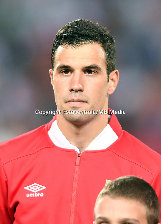 Luka Milivojevic, Serbia vs Wales. World Cup qualifications<br /> Belgrade 11.06.2017
