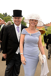 EAMONN HOLMES and RUTH LANGSFORD at Day 1 of the 2013 Royal Ascot Racing Festival at Ascot Racecourse, Ascot, Berkshire on 18th June 2013.