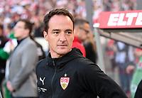 Fussball  1. Bundesliga / 2. Bundesliga  Saison 2018/2019  Relegation Hinspiel VfB Stuttgart - Union Berlin      23.05.2019 Trainer Nico Willig (VfB Stuttgart) ----DFL regulations prohibit any use of photographs as image sequences and/or quasi-video.----
