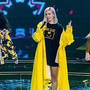 NLD/Hilversum/20180216 - Finale The voice of Holland 2018, Anne-Marie Nicholson