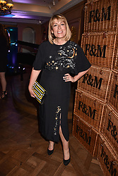 Fay Ripley at the Fortnum & Mason Food and Drink Awards, Fortnum & Mason Food and Drink Awards, London, England. 10 May 2018.
