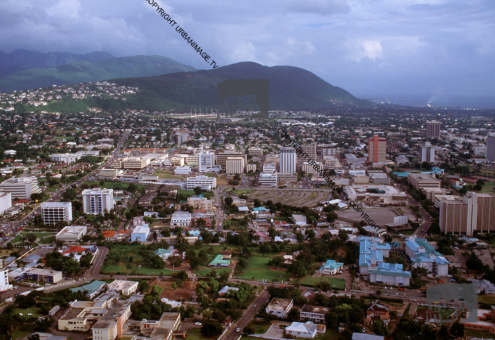 Aerial View over Kingston