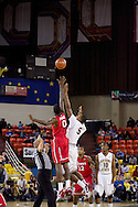 November 27th, 2010:  Anchorage, Alaska - Arizona State and St. John's tip off the final game of the 2010 Great Alaska Shootout.  St. John's would go on to win the championship 67-58 over the Sun Devil's.
