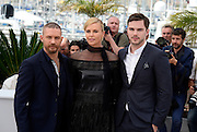 TOM HARDY, CHARLIZE THERON, NICHOLAS HOULT - - PHOTOCALL FILM 'MAD MAX' - 68TH CANNES FILM FESTIVAL <br /> ©Exclusivepix Media