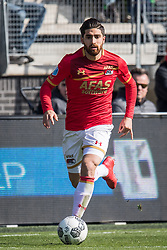 Alireza Jahanbakhsh of AZ during the Dutch Eredivisie match between AZ Alkmaar and FC Groningen at AFAS stadium on March 18, 2018 in Alkmaar, The Netherlands