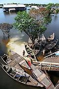 E?cole flottante Cambodge