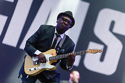 © Licensed to London News Pictures. 14/06/2014. Isle of Wight, UK.   The Specials performing live at Isle of Wight Festival .   The Isle of Wight festival is an annual music festival that takes place on the Isle of Wight. Photo credit : Richard Isaac/LNP