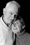Portrait of Husband and wife of over fifty years