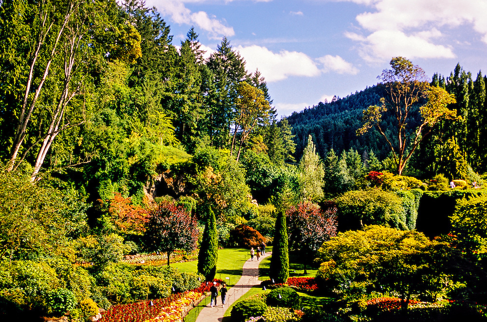 The Butchart Gardens, Victoria, Vancouver Island, British Columbia, Canada