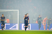 Marco Verratti disapointed atthe end of game during the UEFA Champions League, round of 16, 2nd leg football match between Paris Saint-Germain FC and Real Madrid CF on March 6, 2018 at Parc des Princes stadium in Paris, France - Photo Pierre Charlier / ProSportsImages / DPPI