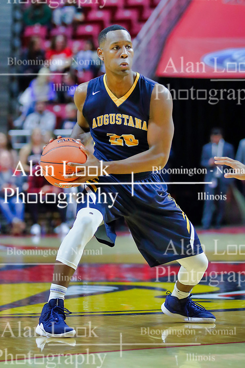 NORMAL, IL - November 03: Chrishawn Orange during a college basketball game between the ISU Redbirds  and the Augustana Vikings on November 03 2018 at Redbird Arena in Normal, IL. (Photo by Alan Look)