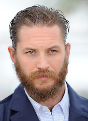 Tom Hardy poses during the photocall of 'Lawless' presented in competition at the 65th Cannes film festival on May 19, 2012 in Cannes. Photo by Ki Price/i-images<br />