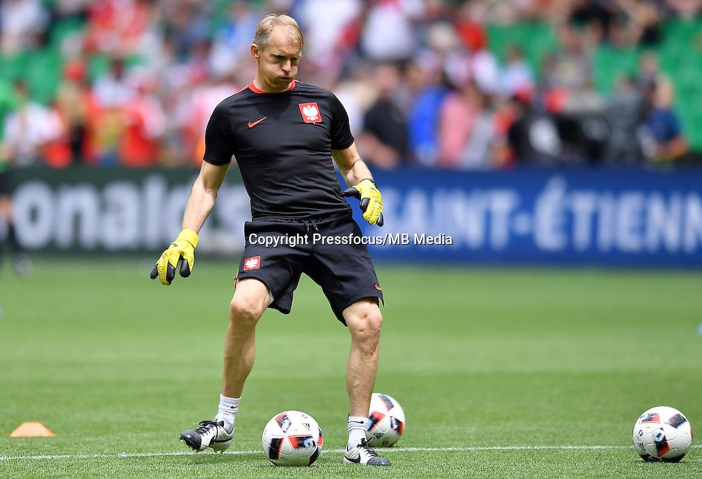 2016.06.25 Saint-Etienne<br /> Pilka nozna Euro 2016<br /> mecz 1/8 finalu Szwajcaria - Polska<br /> N/z Jaroslaw Tkocz<br /> Foto Lukasz Laskowski / PressFocus<br /> <br /> 2016.06.25<br /> Football UEFA Euro 2016 <br /> Round of 16 game between Switzerland and Poland<br /> Jaroslaw Tkocz<br /> Credit: Lukasz Laskowski / PressFocus