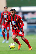 OSTERSUND, SWEDEN - APRIL 21: Saman Ghoddos of Ostersunds FK during the Allsvenskan match between Ostersunds FK and Orebro SK at Jamtkraft Arena on April 21, 2018 in Ostersund, Sweden. Photo by Nils Petter Nilsson/Ombrello ***BETALBILD***