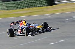 01.02.2011, Street Circuit. Jerez, ESP, Formel 1 Test 1 Valencia 2011,  im Bild Sebastian Vettel (GER), Red Bull Racing EXPA Pictures © 2011, PhotoCredit: EXPA/ nph/  Dieter Mathis       ****** out of GER / SWE / CRO  / BEL ******