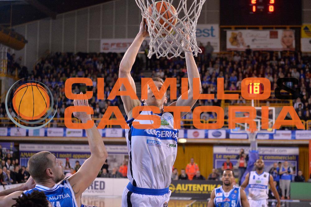 Jared Berggren<br /> Germani Basket Brescia Leonessa - Banco di Sardegna Dinamo Sassari <br /> Lega Basket Serie A 2016/2017<br /> Montichiari, 05/02/2017<br /> Foto Ciamillo-Castoria