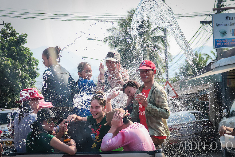 Songkran, Pi Mai, New Year, Luang Prabang, Laos, southeast, asia
