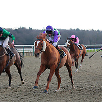 Wilfred Pickles and Adam Kirby winning the 3.05 race