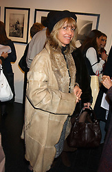 SABRINA GUINNESS at an exhibition of photographs from the LIFE Magazine archives entitles American Life held at the Michael Hoppen Gallery, 3 Jubilee Place, London SW3 on 29th November 2005.<br /><br />NON EXCLUSIVE - WORLD RIGHTS