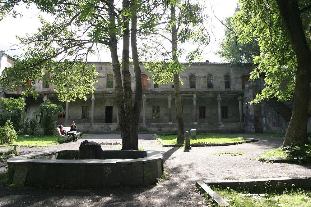 Museum of Alexander Kazbegi in Kazbegi, Georgia.