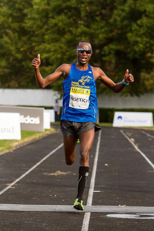 third place Eliud Ngetich, Kenya
