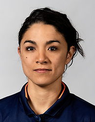 10-05-2018 NED: Team shoot Dutch volleyball team women, Arnhem<br /> Strength trainer Nicole Rodriguez