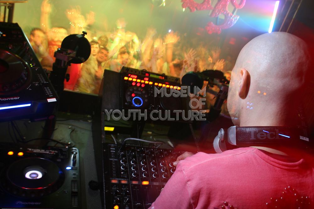 DJ Marco V at Gatecrasher club, UK 2006