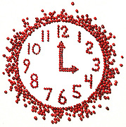 """( 9"""" X 9"""")  David J. Rogowski photoillustration for food life story runs 10/3/01.    PLEASE USE kicker with reference to time.......""""Harvest Time""""       For cranberries harvest story September 28, 2001."""