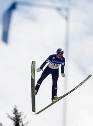 11.01.2014, Kulm, Bad Mitterndorf, AUT, FIS Ski Flug Weltcup, Erster Durchgang, im Bild Gregor Schlierenzauer (AUT) // Gregor Schlierenzauer (AUT) during the first jump of FIS Ski Flying World Cup at the Kulm, Bad Mitterndorf, .Austria on 2014/01/11, EXPA Pictures © 2013, PhotoCredit: EXPA/ Erwin Scheriau